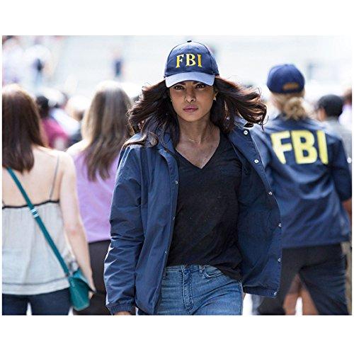 Priyanka Chopra 8 inch x 10 inch PHOTOGRAPH Barfi! Don 2 Don Agneepath Blue  Windbreaker   FBI Hat kn at Amazon s Entertainment Collectibles Store 2d67baa85a8
