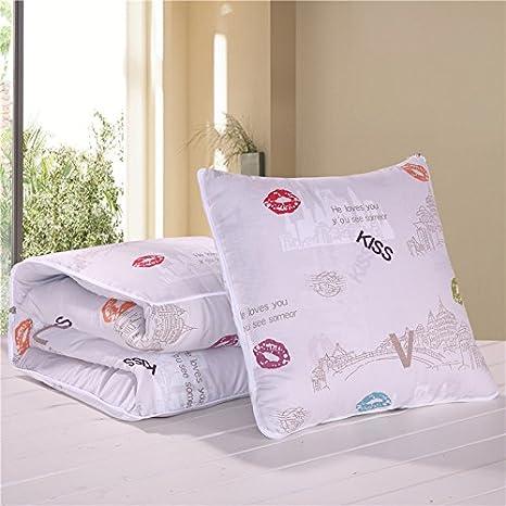 Amazon.com: jinyidian shop-pillow manta flores frescas ...