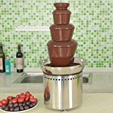 Commercial Chocolate Fountain for Wedding, Party, Rental business. All parts made by Stainless Steel (4 tiers)