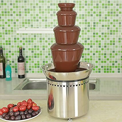 Amazon.com: Commercial Chocolate Fountain for Wedding, Party, Rental ...