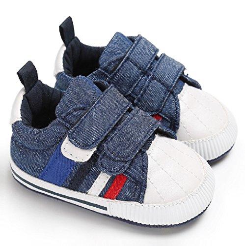 B Niñas Bebé Por Antideslizantes 18 Bebé Meses Suela Auxma Niños Recién Zapatillas Suave Primeros Nacido Lona Cuna De Zapatos Pasos 0 wfqfYxRg0