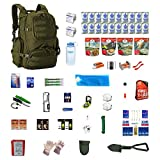 Extreme Survival Kit Deluxe For Earthquakes, Hurricanes, Floods, Tornadoes, Emergency Preparedness