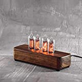 Nixie Tube Clock with New Replaceable IN-14 Nixie