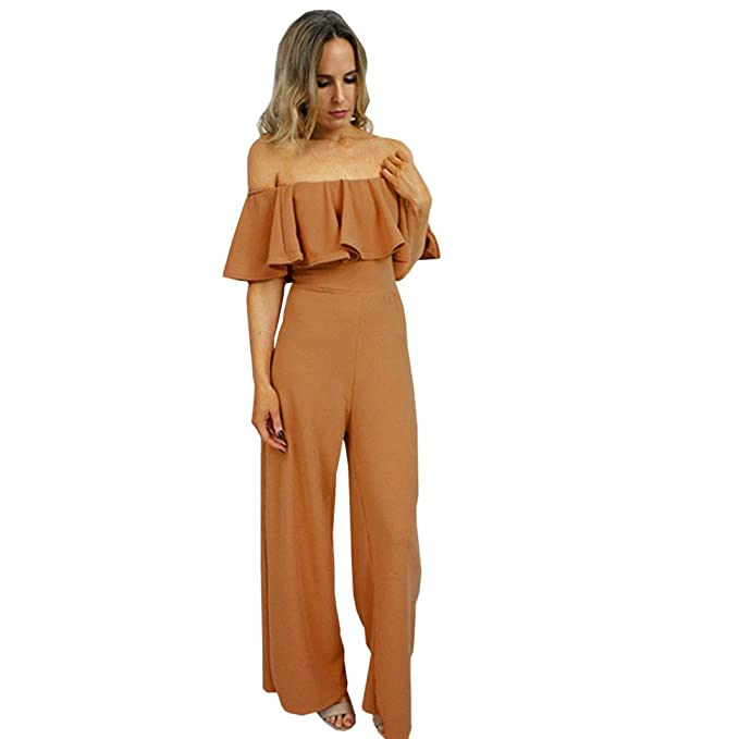 Amazon.com: Longay - Vestido largo para mujer con volantes ...