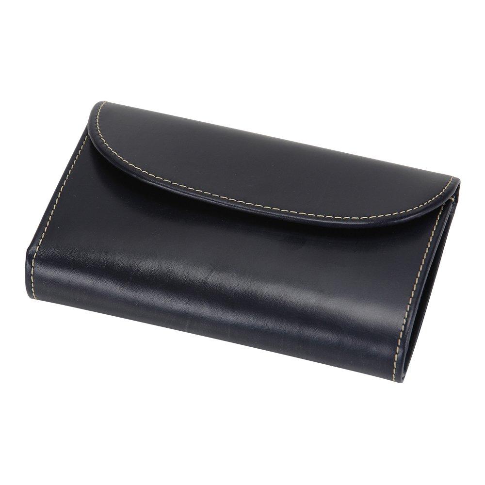 [ ホワイトハウスコックス ] Whitehouse Cox 3 Fold Purse Navy ネイビー S7660 財布 [並行輸入品] B01KSRPSZ6ネイビー