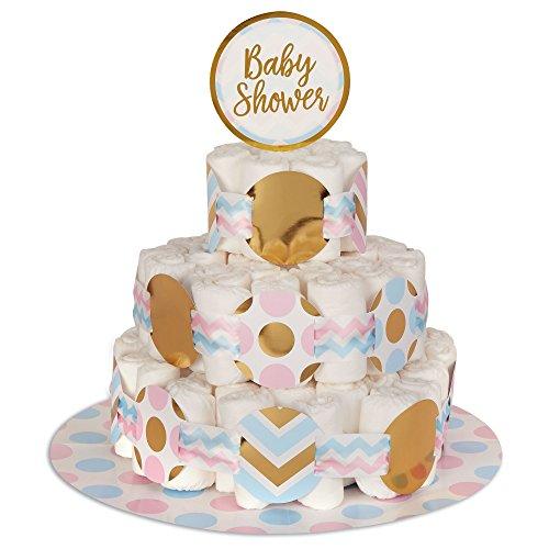 Neviti Pattern Works Nappy Cake Decoration Kit, ()