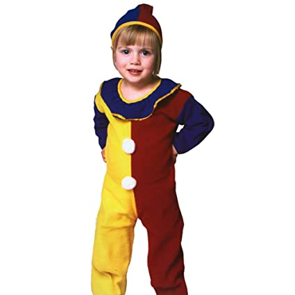 Amazoncom Toddler Clown Halloween Costume 1 2t Toys Games