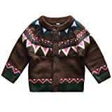 Product review for Coodebear Baby Boys' Round Collar Clothing Knitted Cardigan Cashmere Christmas Sweater