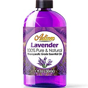 Artizen Lavender Essential Oil (100% PURE & NATURAL – UNDILUTED) Therapeutic Grade – Huge 1oz Bottle – Perfect for Aromatherapy, Relaxation, Skin Therapy & More!