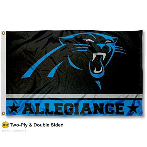 Carolina Panthers Double Sided Allegiance Flag