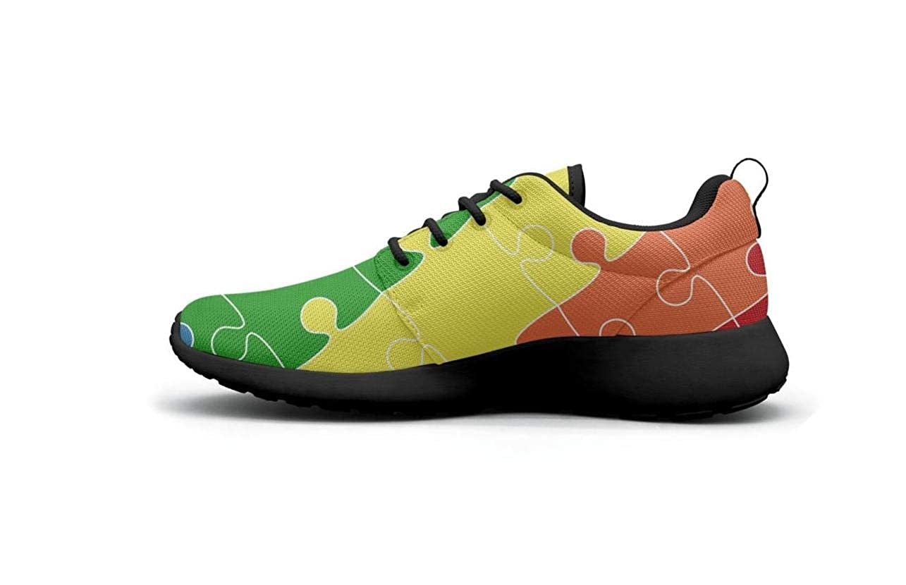 ipdterty Wear-Resistant Traveling Sneaker Peace Pride Gay Sign Beautiful Women Funny Track Running Shoes