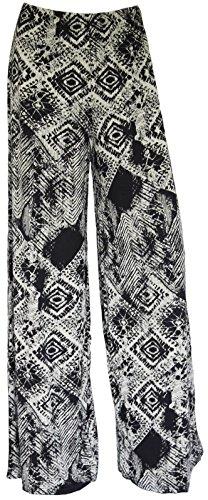 FZK FASHION - Pantalón - para mujer Tie Dye Square