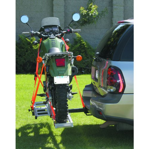 400 Lb Aluminum Hitch Receiver Mount Motorcycle Carrier