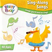 Music CD for Babies and Children Sing Along Songs CD by Brainy Baby