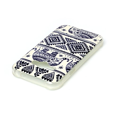 J1 ACE Case, Firefish Vintage Retro Tribe Style Design Clear TPU ...