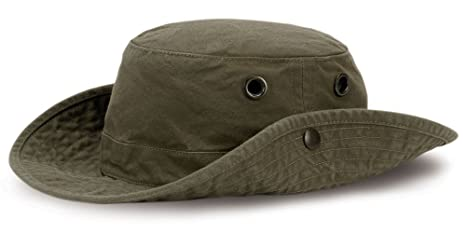 a6b98340fc7 Image Unavailable. Image not available for. Color  Tilley T3 Wanderer Hat -  Olive - 7 ...