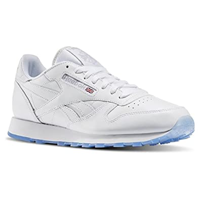 MENS REEBOK CLASSIC LEATHER ICE WHITE-STEEL-ICE