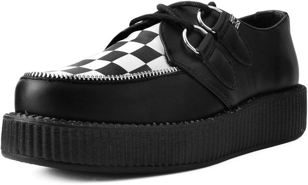 White Checkered Viva Mondo Creeper | Shoes