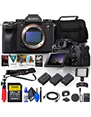$7624 » Sony Alpha 1 Mirrorless Digital Camera (Body Only) (ILCE-1/B) + 128GB Tough Memory Card + Corel Photo Software + 2 x NP-FZ100 Battery + LED Light + Case + HDMI Cable + More (Renewed)