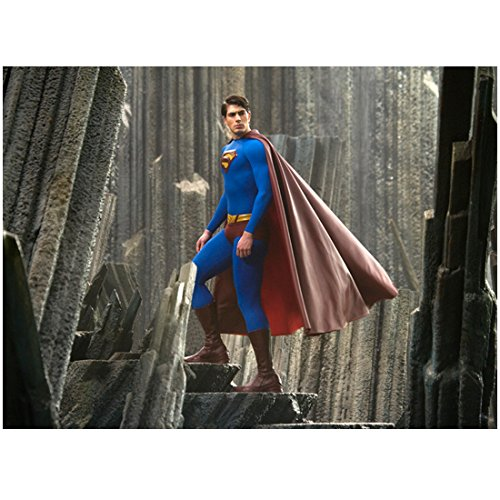 Superman Returns with Brandon Routh Walking Up Steps 8 X 10 Inch Photo