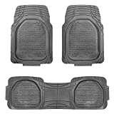 FH GROUP F11323 Supreme Trimmable Rubber Floor Mat- Fit Most Car, Truck, Suv, or Van