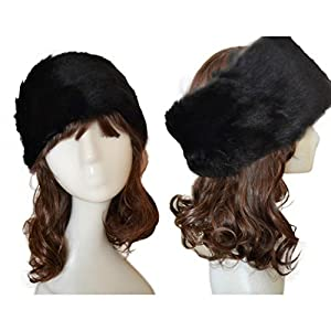 Sikye Women Faux Fur Winter Keep Warm Headwear for Women