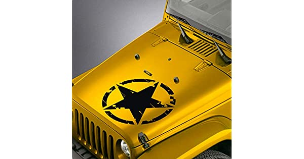 """Army JK  1-20/"""" and 1-5/"""" Oscar Mike Freedom Edition Jeep Wrangler decals"""