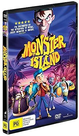 Amazon com: Monster Island | Kids Animated | NON-USA Format
