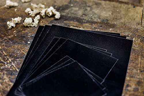 Modern Collodion 4x5 Tintype Plates - 15 Pack