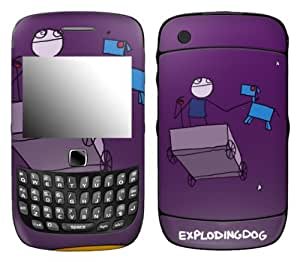 MusicSkins, MS-EXDG30211, EXPLODINGDOG - I Might Be Lost, BlackBerry Curve 3G (9300/9330), Skin