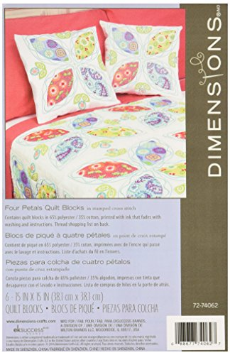Dimensions Crafts 72 74062 Petals Stamped