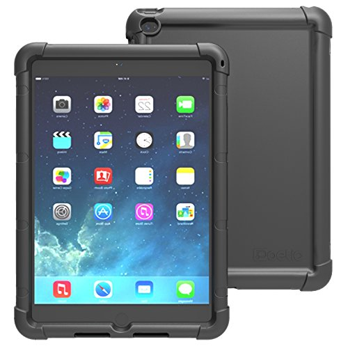 (iPad Air 2 Case - Poetic iPad Air 2 Case [TurtleSkin Series] - [Corner/Bumper Protection] [Grip] [Sound-Amplification] Protective Silicone Case for Apple iPad Air 2)
