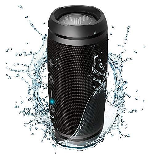 TREBLAB HD7 - Mini Portable Bluetooth Speaker Wireless - 12W Stereo, 360°HD Sound w/Bass, TWS Dual Pairing, w/Mic… 1