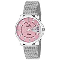 Fogg Analog Pink Dial Women's Watch 4047-PK