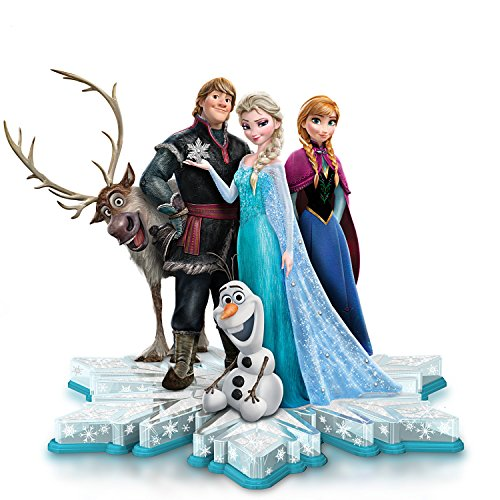 Disney Ultimate FROZEN Sculpture with Swarovski Crystals by The Hamilton Collection