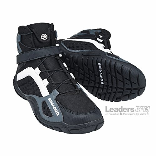 Sea-Doo New OEM Riding Boots, Black, Size 11, 2858073190 by Sea-Doo
