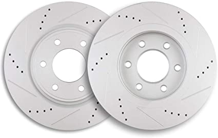 Front 350 mm Quality 6 Lug OE Brake Disc Rotors For Infiniti QX56 Nissan Armada