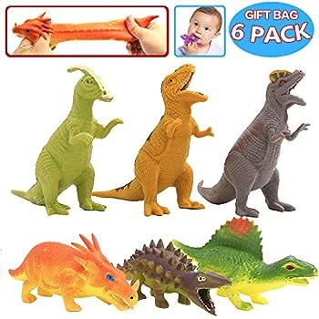 Squishy Dinosaur Toys : Amazon.com: Dinosaur Figure,8