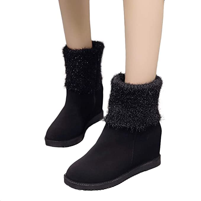 0984d258ba24 Image Unavailable. Image not available for. Color  Gyoume Women Ankle Boots  ...