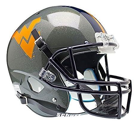 WEST VIRGINIA MOUNTAINEERS NCAA Schutt XP Full Size REPLICA Football Helmet