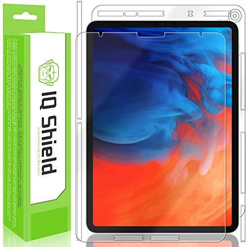 IQShield iPad Pro 11 Screen Protector, LiQuidSkin Full Body Skin + Full Coverage Screen Protector for iPad Pro 11 (2018) HD Clear Anti-Bubble Film