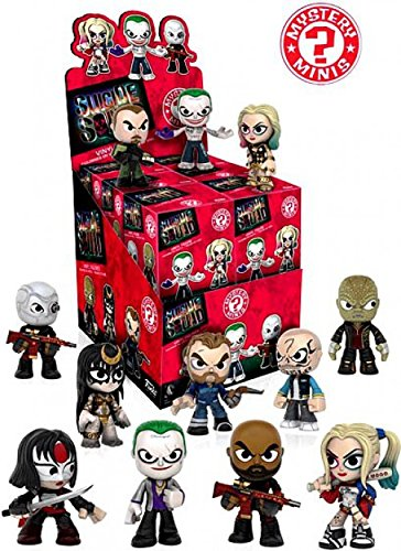DC Comics Funko Suicide Squad Mystery Mini Vinyl Figure Display Box (Case of 12) ()