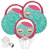 Costume SuperCenter Little Spa Balloon Bouquet Kit