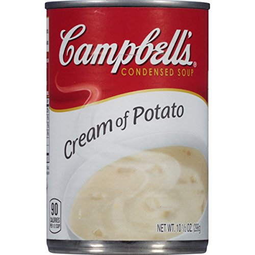Campbell's Condensed Soup, Cream of Potato, 10.5 Ounce (Pack of 24) -
