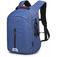 Beaspire Professional Waterproof Camera Bag Large Capacity Travel backpack (Blue)