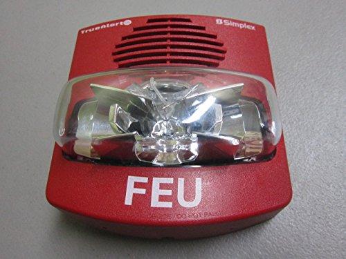 Tyco Simplex Horn Strobe Fire Alarm Feu French Red Multi Candela Truealert Addressable Es A V Audible Visible 49av Wrq Buy Online In Qatar At Qatar Desertcart Com Productid 69982907