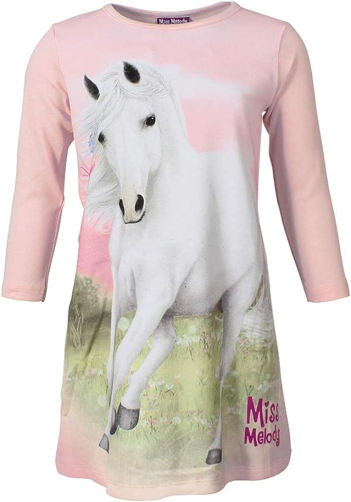 Miss Melody M/ädchen Nachthemd Rosa