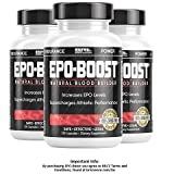 EPO-BOOST Powerful Endurance Enhancer / EPO Red Blood Cell Booster (3-Pack, 120 Capsules / bottle) …