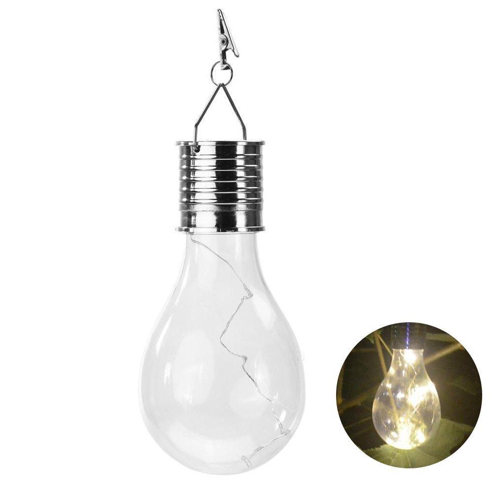 Single Classic Solar Light Bulb