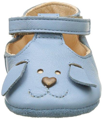 Easy Peasy Loulou Chien - Primeros Pasos de Otra Piel Bebé-Niños, azul ( Azul (Azur)